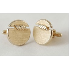 SWANK vintage cufflinks, 60s, with side seam