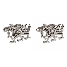 Cufflinks with Heraldic Griffon