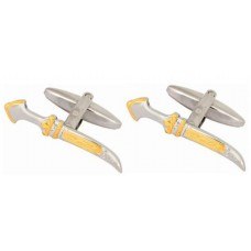 Scimitar cufflinks