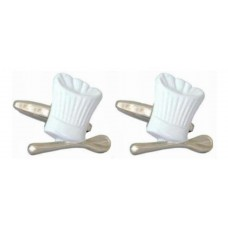 Cufflinks Congratulations to the cook, chef