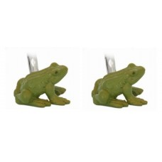 Cufflinks with frog. Or with prince?