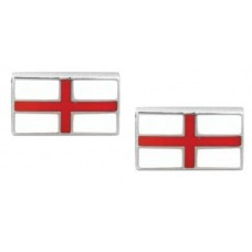 Cufflinks with English flag