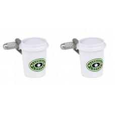 Cufflinks for those who love coffee