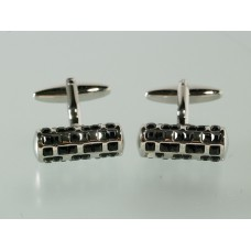 Cufflinks with night crystals
