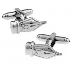 Cufflinks with nib. For writers